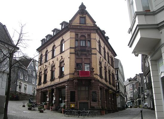 ひとり歩いたドイツの街角にて